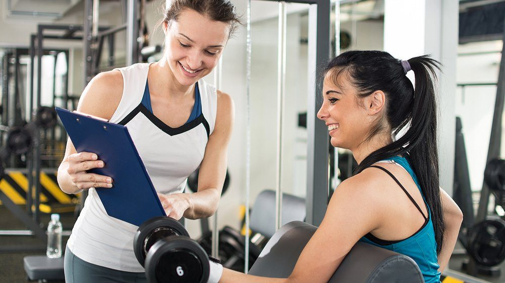 transition into personal training from a job
